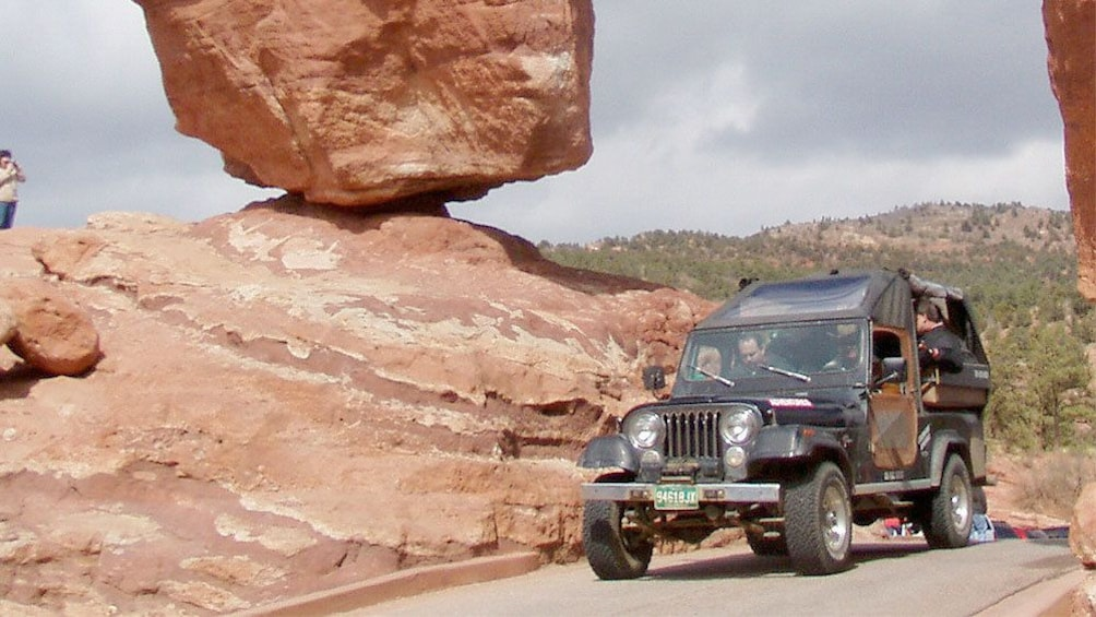 Show item 5 of 5. Foothills Jeep Tour in Colorado