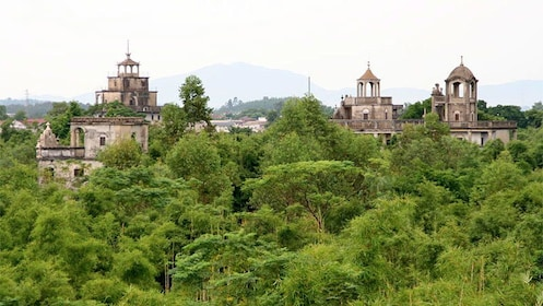 Panoramic view of kaiping Diaolou in China