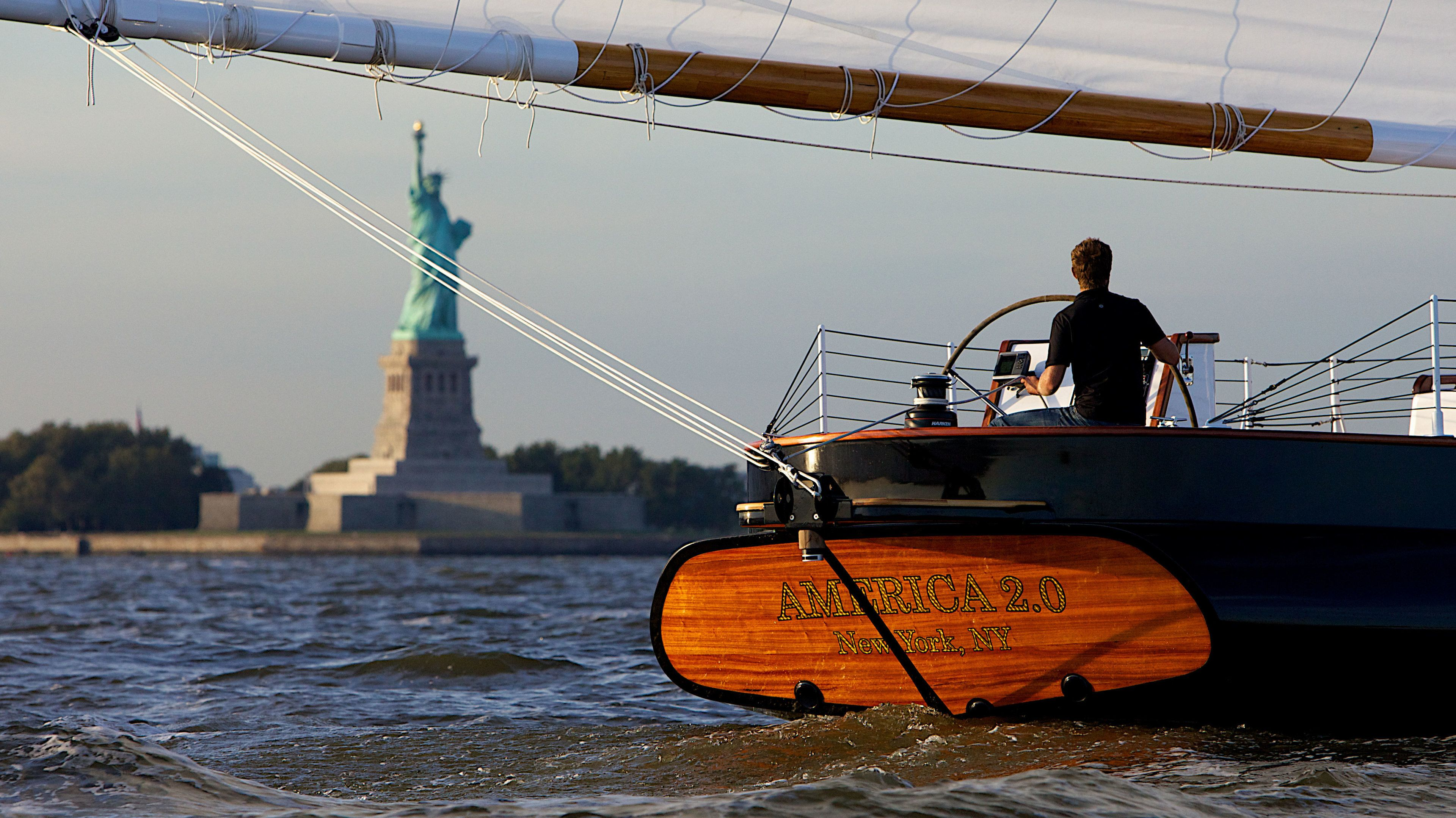 New York City Sunset Sail On board the America 2.0