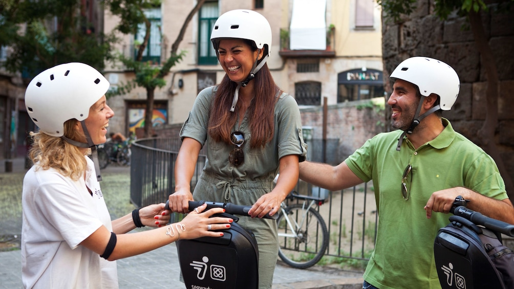 Segway group in Barcelona