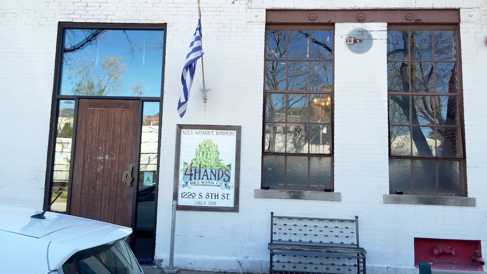 4 hands brewing company on the Beer Lover's Tour in St. Louis, MO