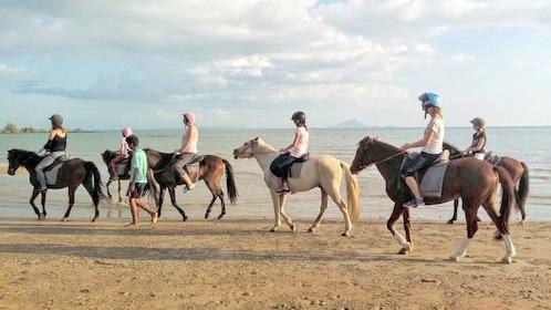 Group Krabi Horse Riding at Ao Nam Mao Beach