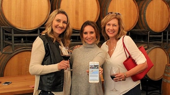 Smartphone-Guided Funk Zone Wine Tour with Glasses