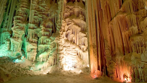 Beautiful view of the Garcia Caves in Mexico
