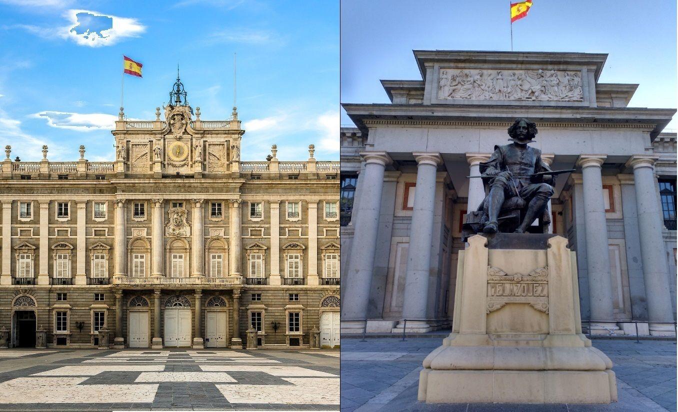 2-tägige Kombi-Tour zum Königspalast und Prado-Museum