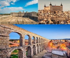 Combo: Toledo and Segovia & Tour to Royal Palace of Madrid