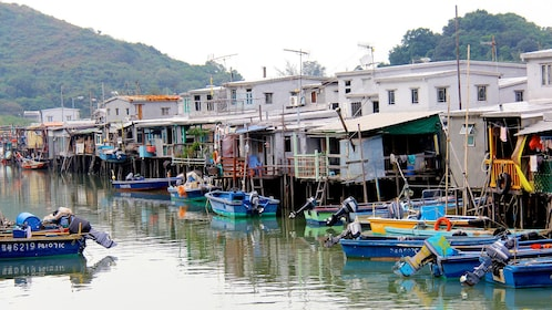 Tai O Island in Hong Kong