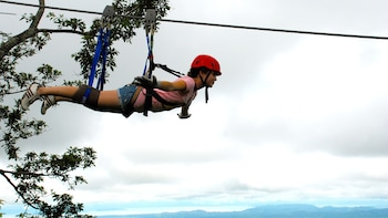 Zipline Canopy Adventure with Superman Flight