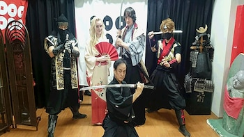Ninja & Samurai Sword-Fighting Experience in Osaka