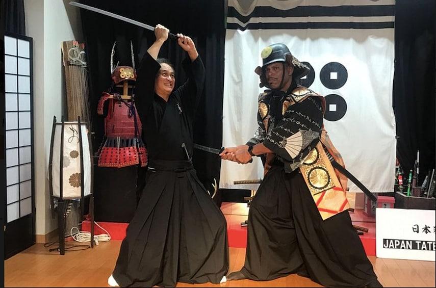 正在顯示第 2 張相片,共 9 張。 Ninja & Samurai Sword-Fighting Experience in Osaka