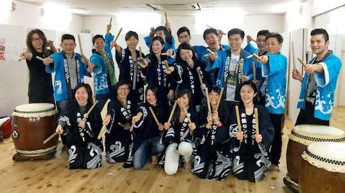 Wadaiko Japanese Drum Lesson - Kobe