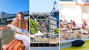 Brisbane River Cruise, Wheel of Brisbane & Lunch Combo Tour