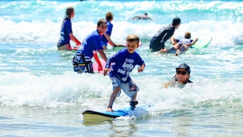 Coolum Beach Surf Lesson for Beginners