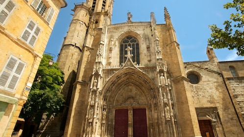 Cathedral in Aix-en-Provence