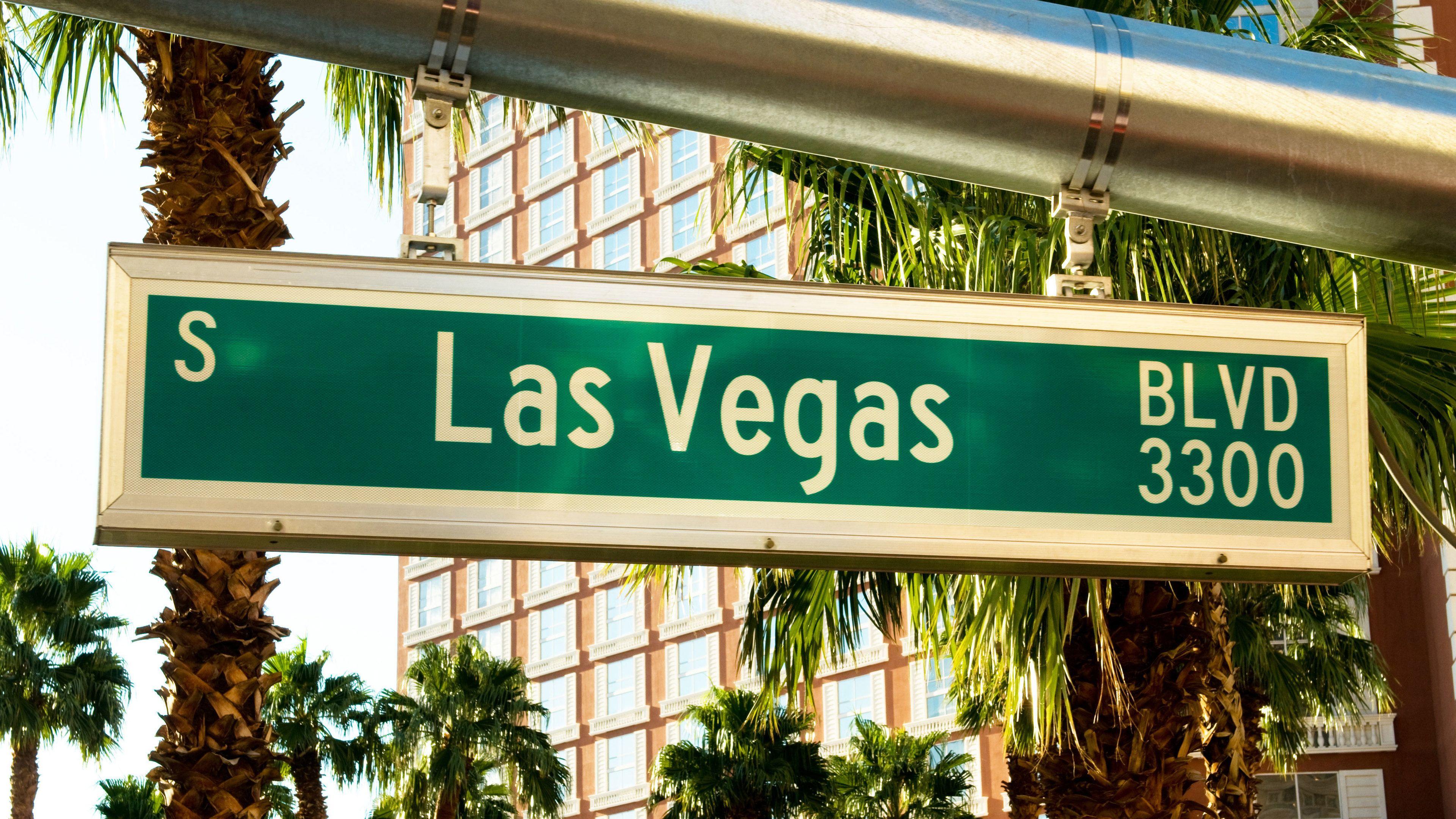 Las Vegas Blvd sign
