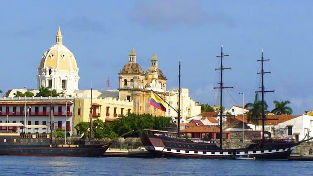 Harbor in Cartagena