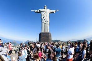 Show item 2 of 10. Full Day in Rio - Corcovado, Sugar Loaf & City Tour with BBQ