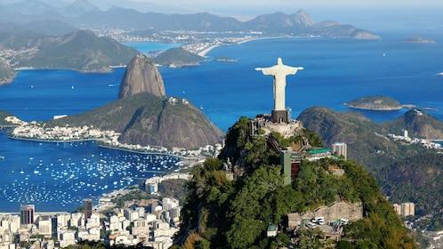 Christ the redeemer over Rio De Janeiro