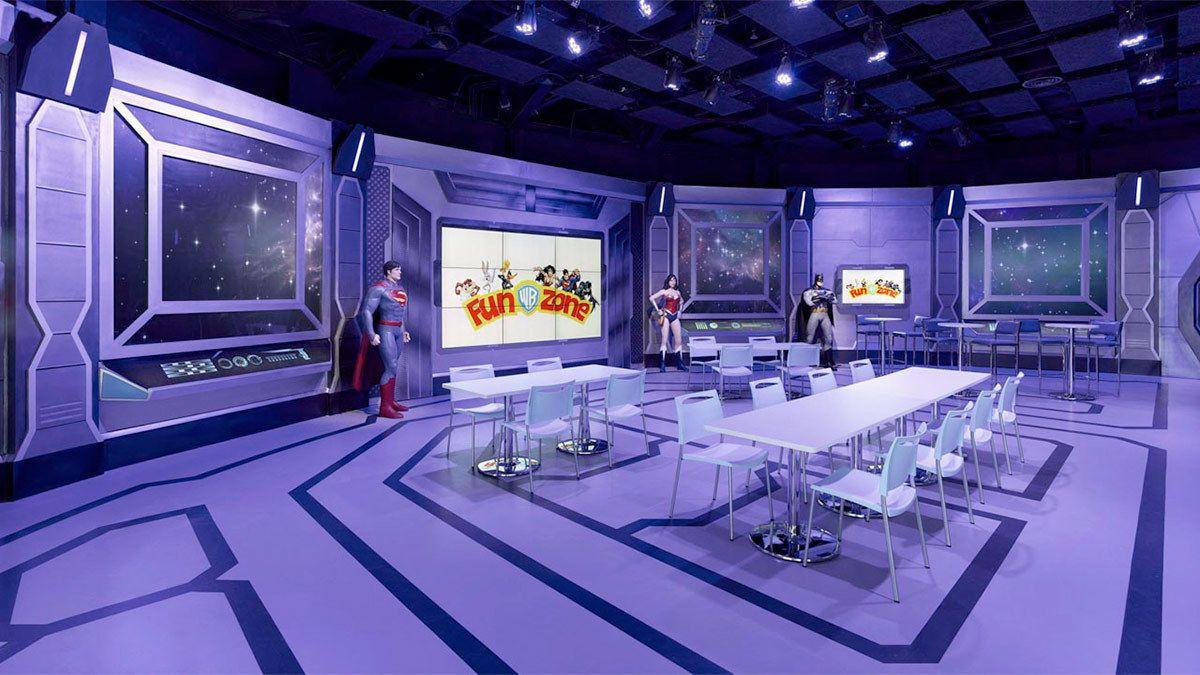 Studio City Warner Bros. Tiket Masuk Fun Zone