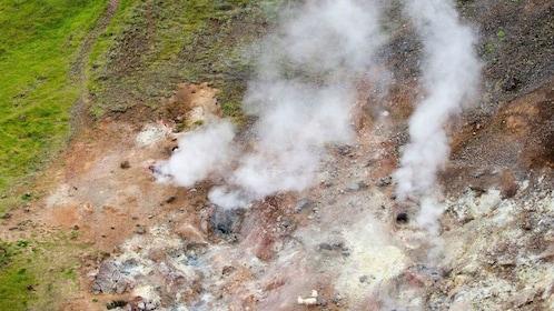 Geothermal vent in Reykjavik