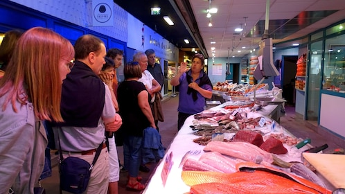 Fish market in France