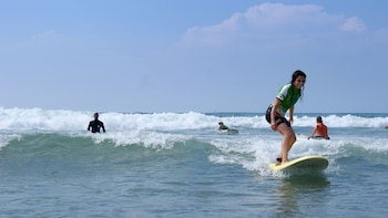Small-Group Surfing Lesson on the Basque Coast