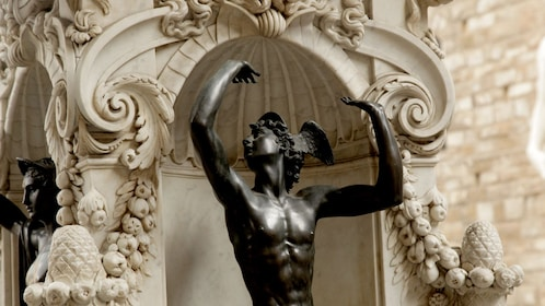 Piazza Signoria with statue of Mercury