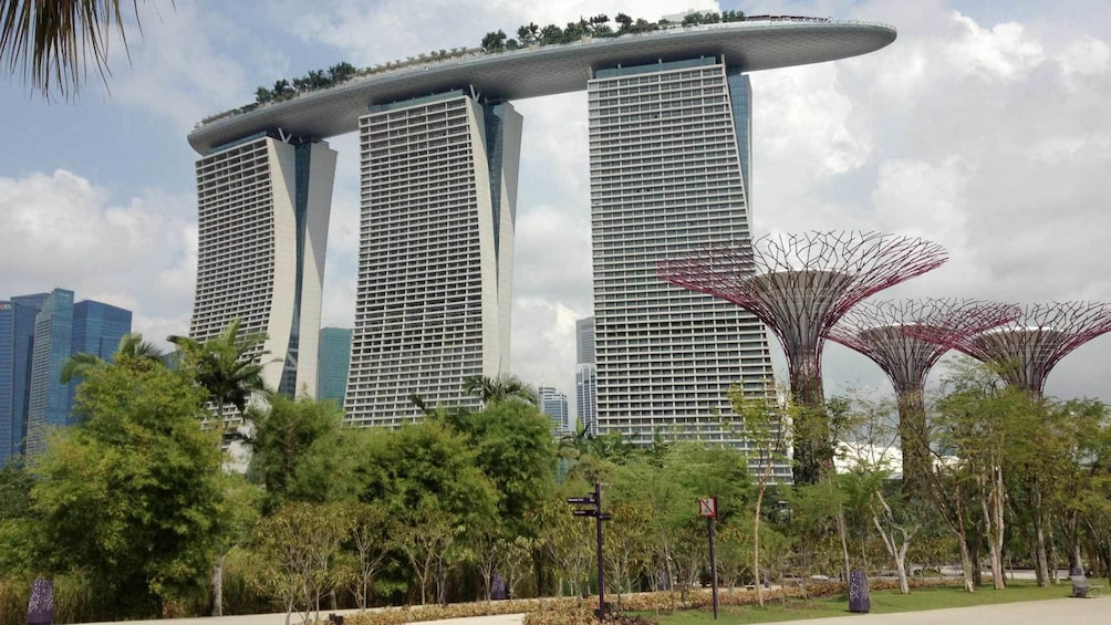Show item 1 of 5. Sands Sky Park MBS & 1-Day FunVee Hopper Pass in Singapore