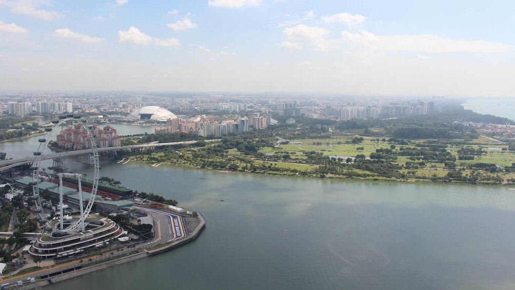 Show item 2 of 5. Aerial view of beautiful Singapore