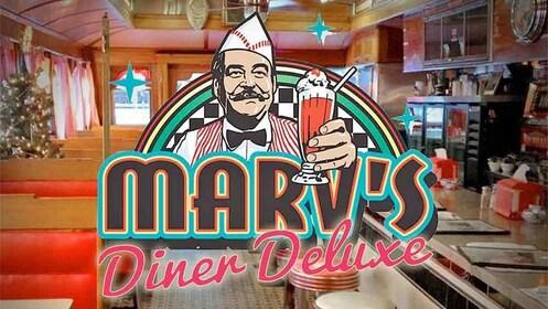 Marv's Diner Delux escape room in banff
