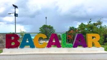 Tour de todo un día por la mágica laguna de Bacalar y Muyil con comida