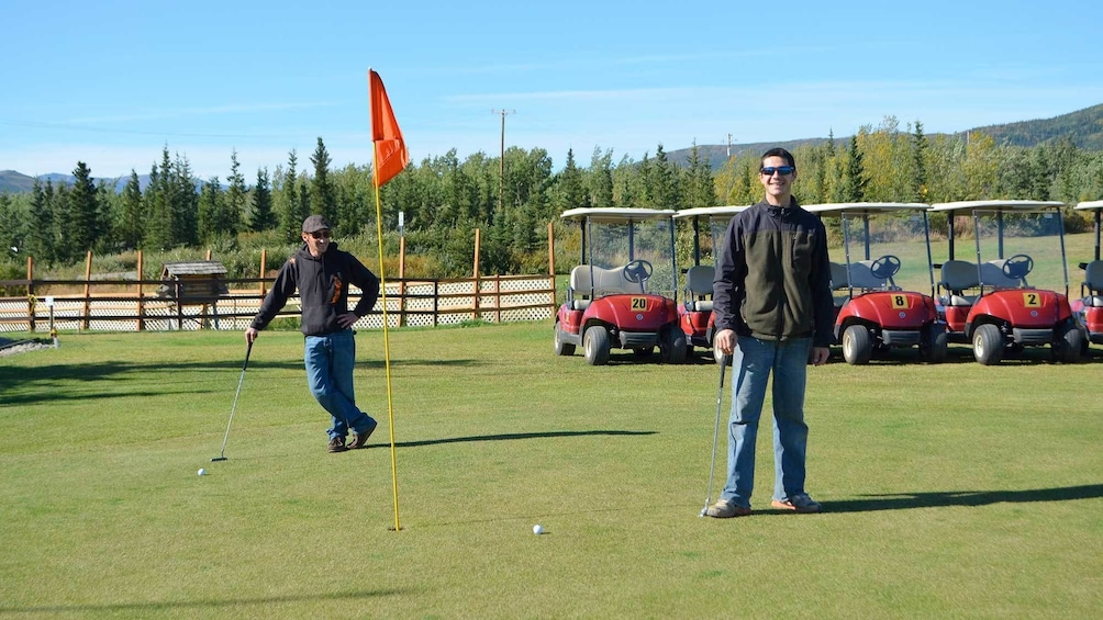 Show item 1 of 4. 9-Hole Golf Course Experience Packageat Denali National Park
