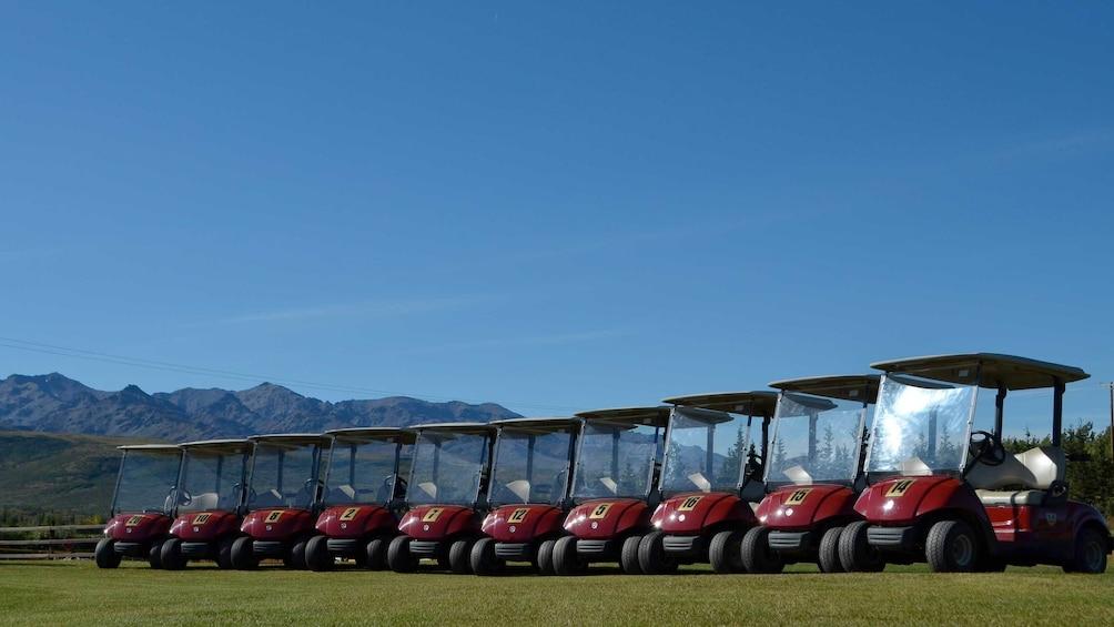 Show item 4 of 4. Golf carts in Alaska
