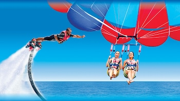 Flyboard & Tandem Parasailing Package