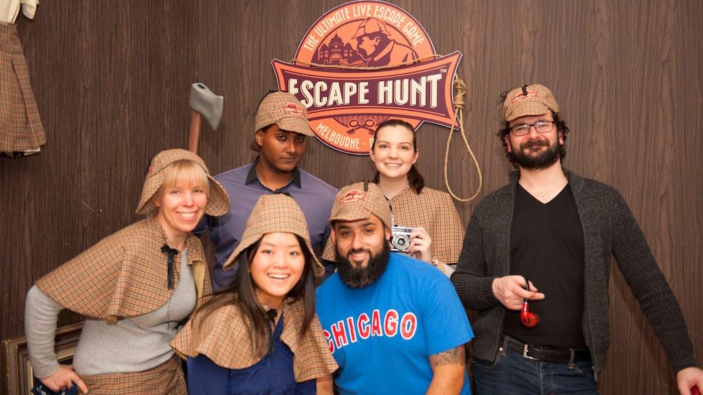 Escape hunt in Melbourne Australia