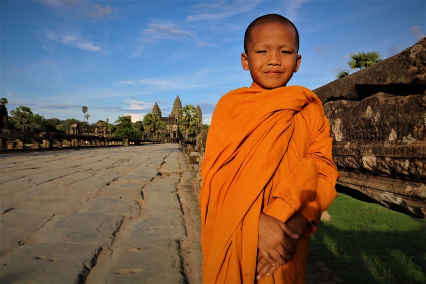 Show item 3 of 12. Full-Day Tour of Temples at Angkor Wat & Angkor Thom