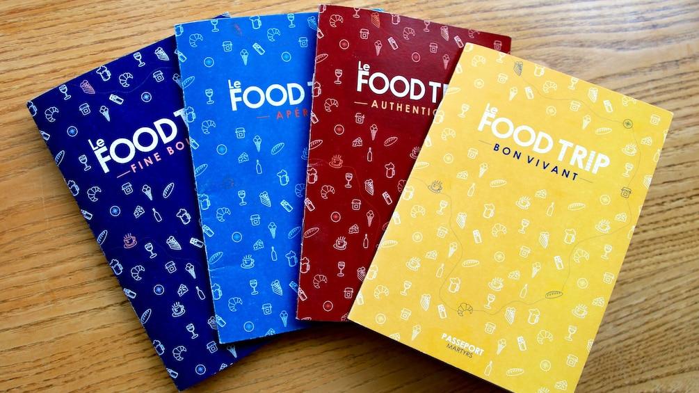 Food passports in Paris