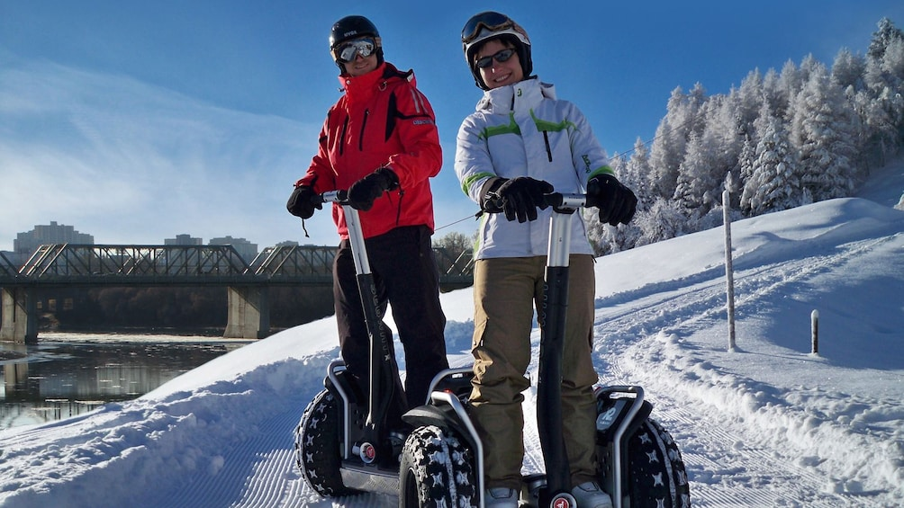Show item 1 of 5. Segway tour in the snow