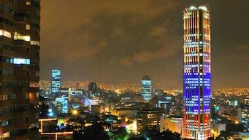 Passeio noturno em Bogotá