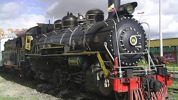Classic Steam Train to Zipaquira