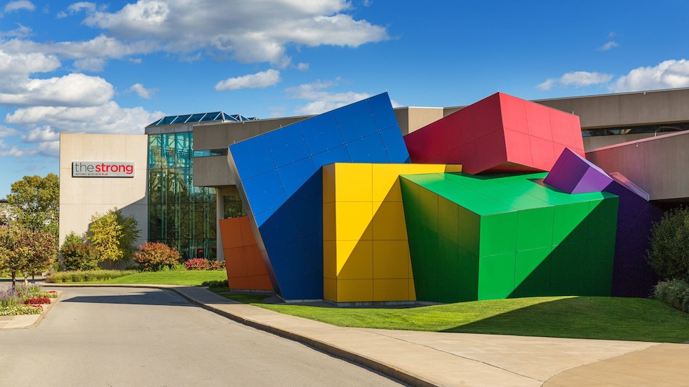 Show item 5 of 5. Strong Museum of Play exterior in Rochester