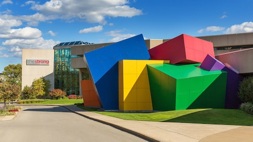 Strong Museum of Play exterior in Rochester