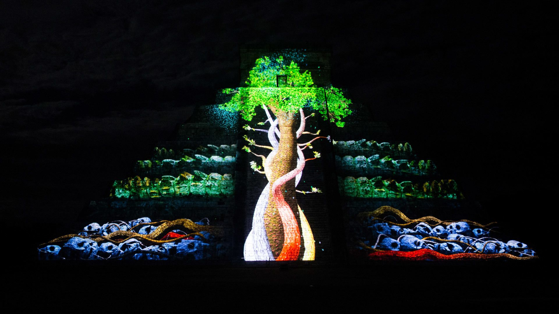 Chichén Itzá Light and Sound Experience