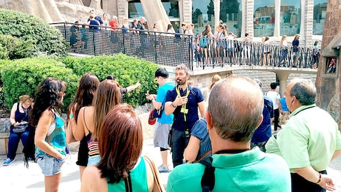 Group tour on the Sagrada Familia Guided Tour with VIP Tower Access