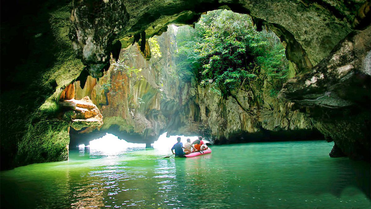 Cave views in Phuket