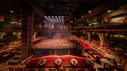 Stage and event seating for Magic Mike Live in Hard Rock Hotel & Casino Las Vegas