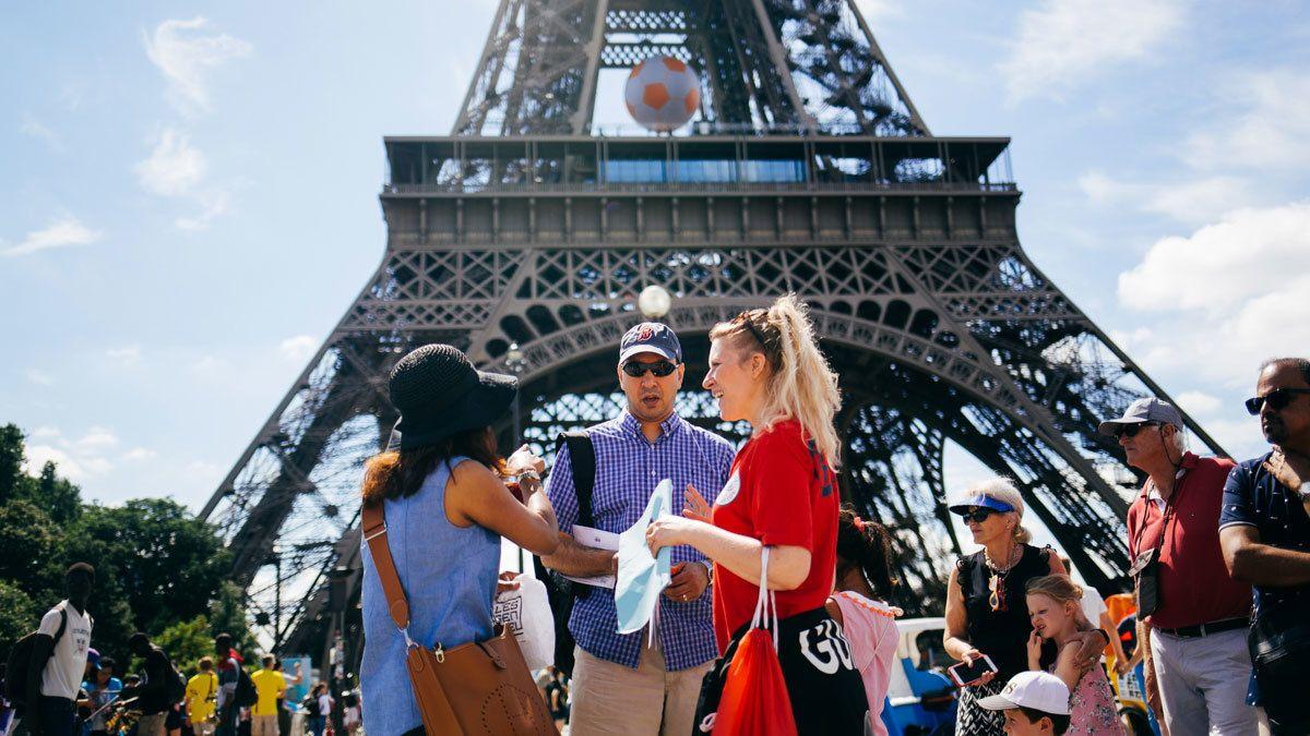 Ochtendtour in de Eiffeltoren met host