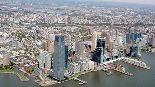 Aerial view of New Jersey