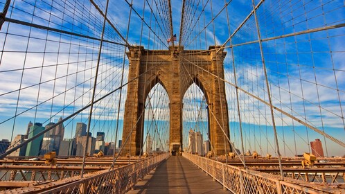 On a bridge into Manhattan