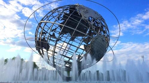 Globe Fountain in New York